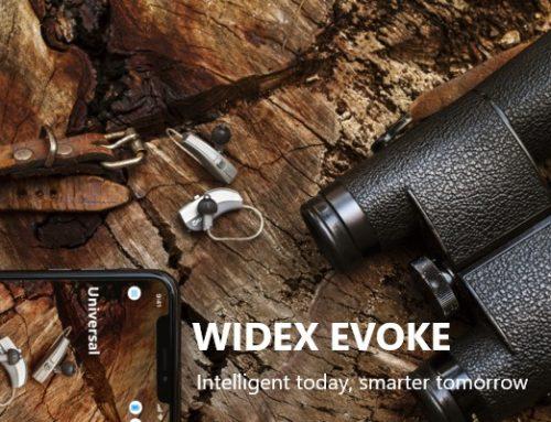 **NIEUW** WIDEX EVOKE. 'S werelds eerste hoortoestel met machine learning, bij Minerva Hoortechniek